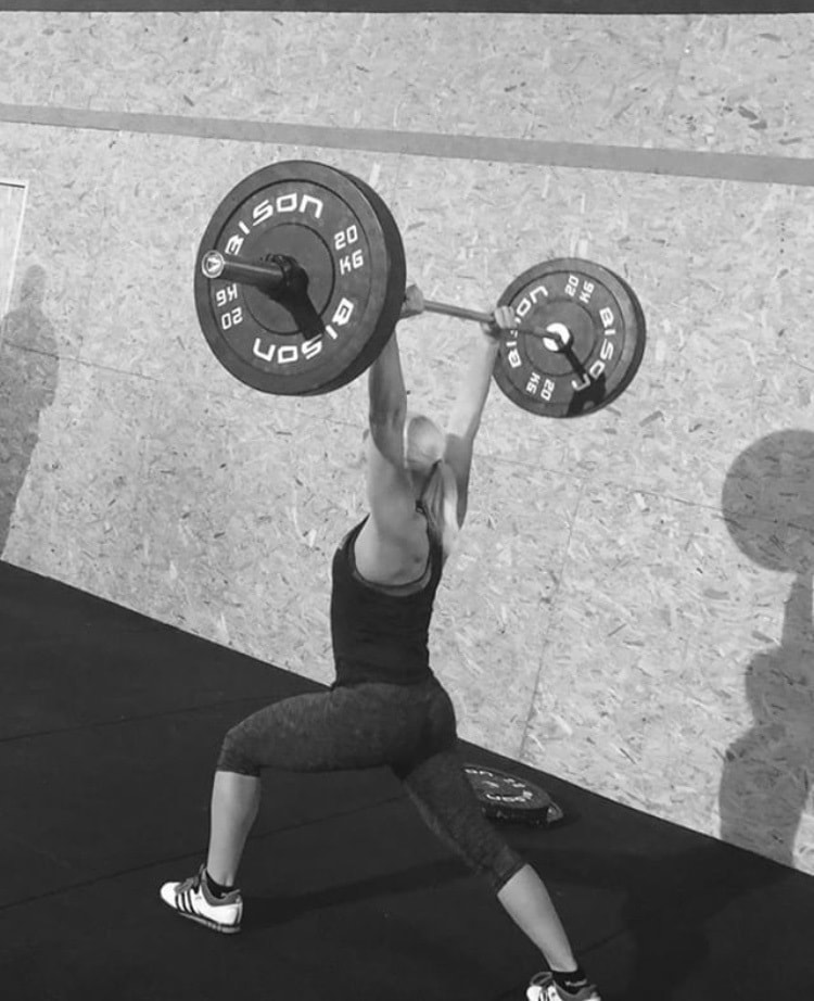 crossfit clean and jerk